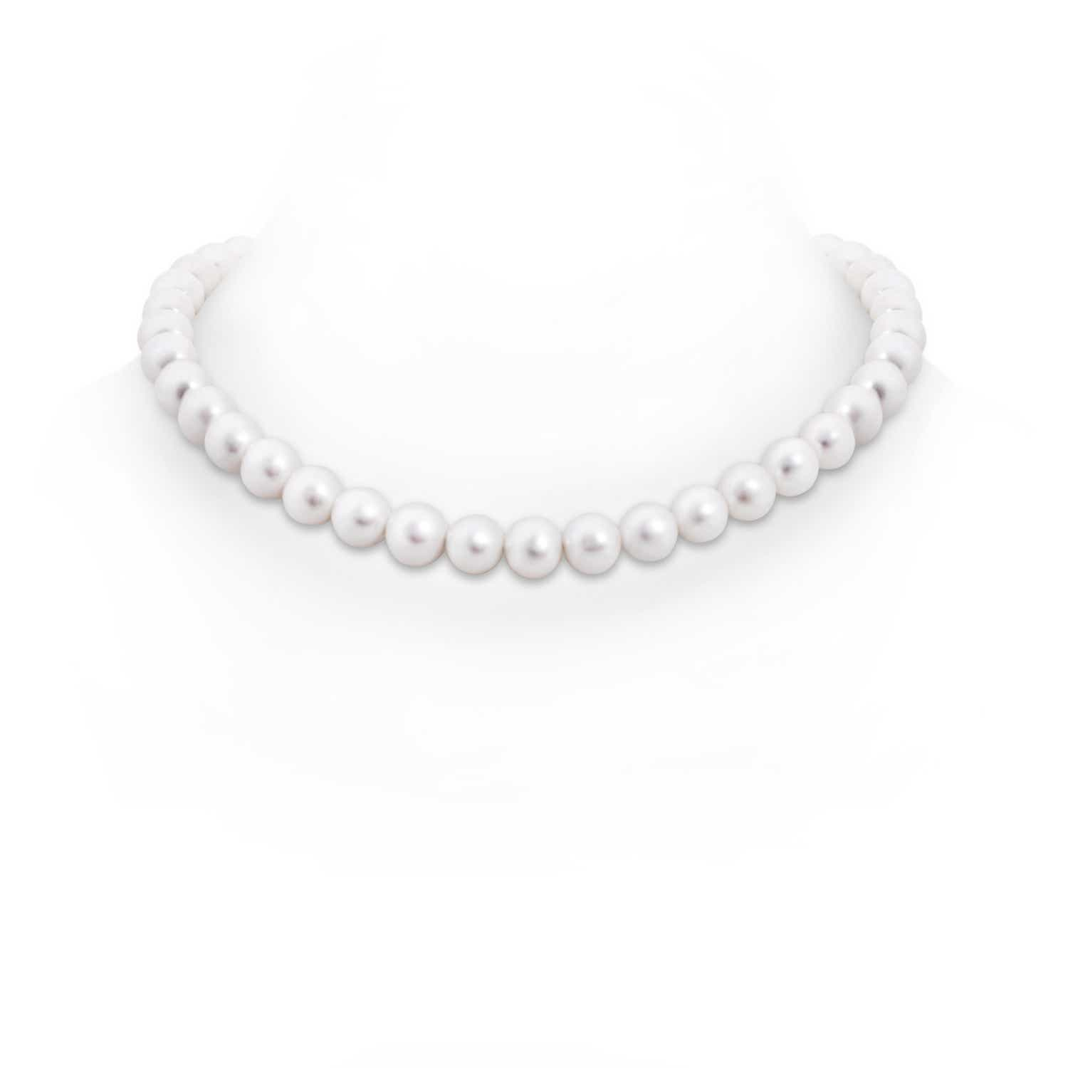 16 Freshwater Cultured Pearl Choker-Length Single Strand
