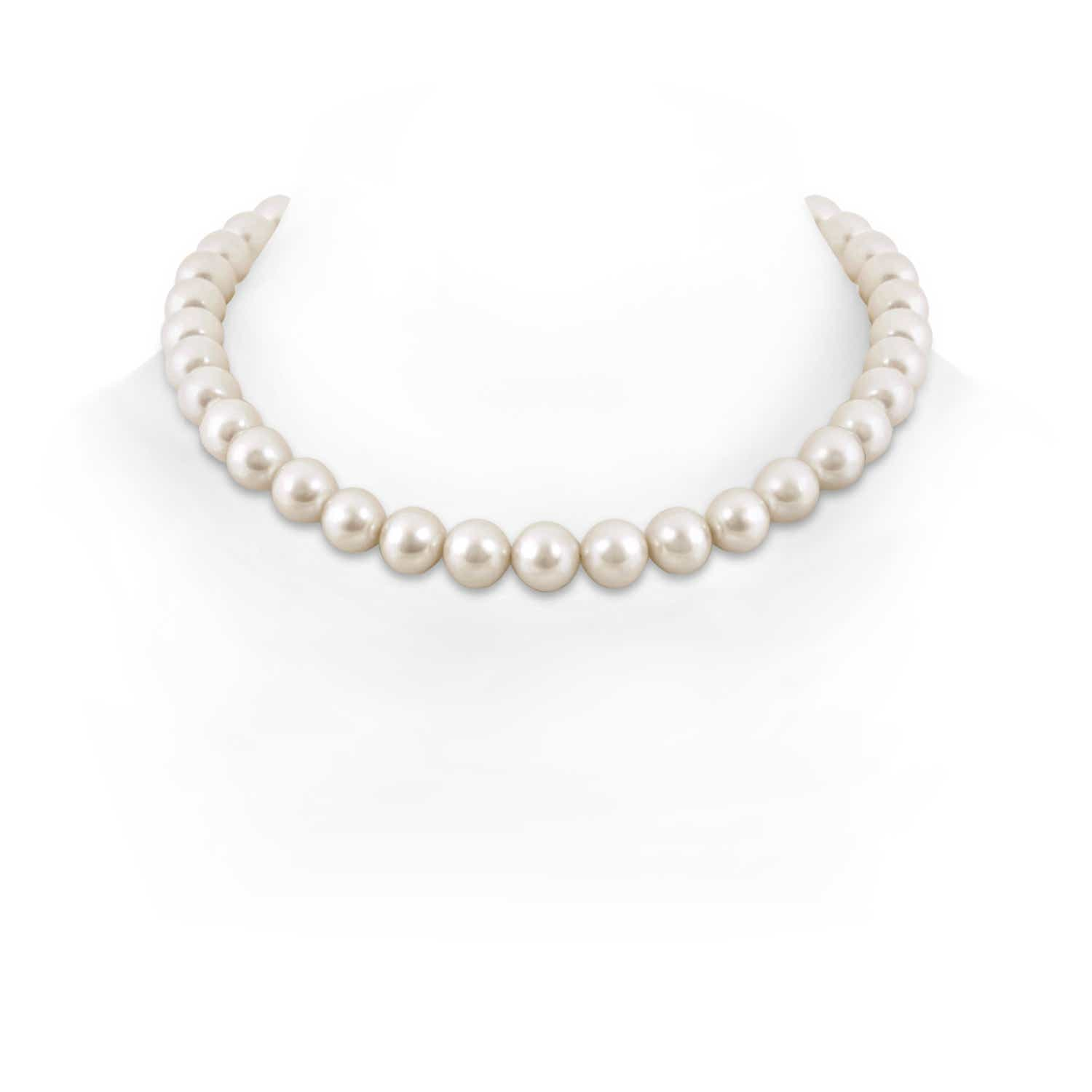 11-12mm, 16 South Sea Cultured Pearl Single Line Choker