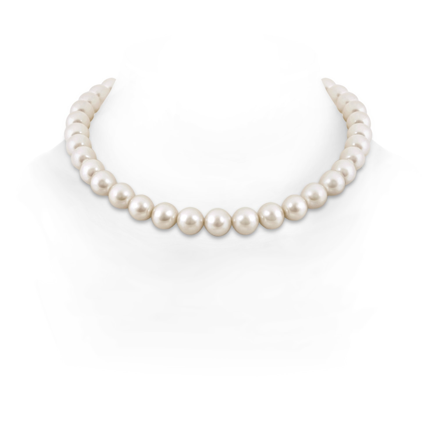 11 12mm, 16 South Sea Cultured Pearl Single Line Choker