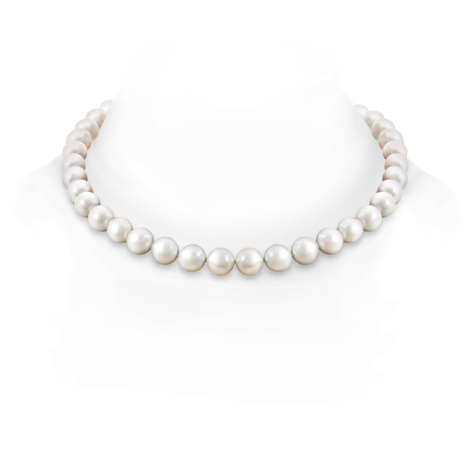 10 11mm, 18 South Sea Cultured Pearl Princess Strand
