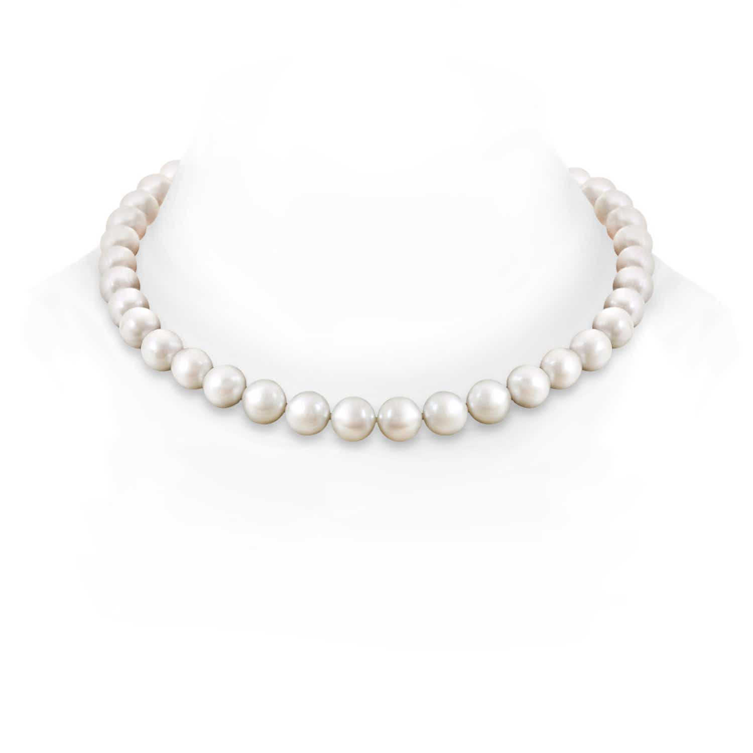 10-11mm, 18 South Sea Cultured Pearl Princess Strand