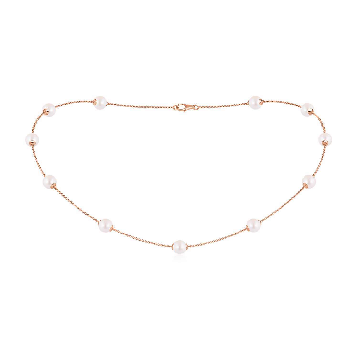 16 Akoya Cultured Pearl Dewdrop Necklace