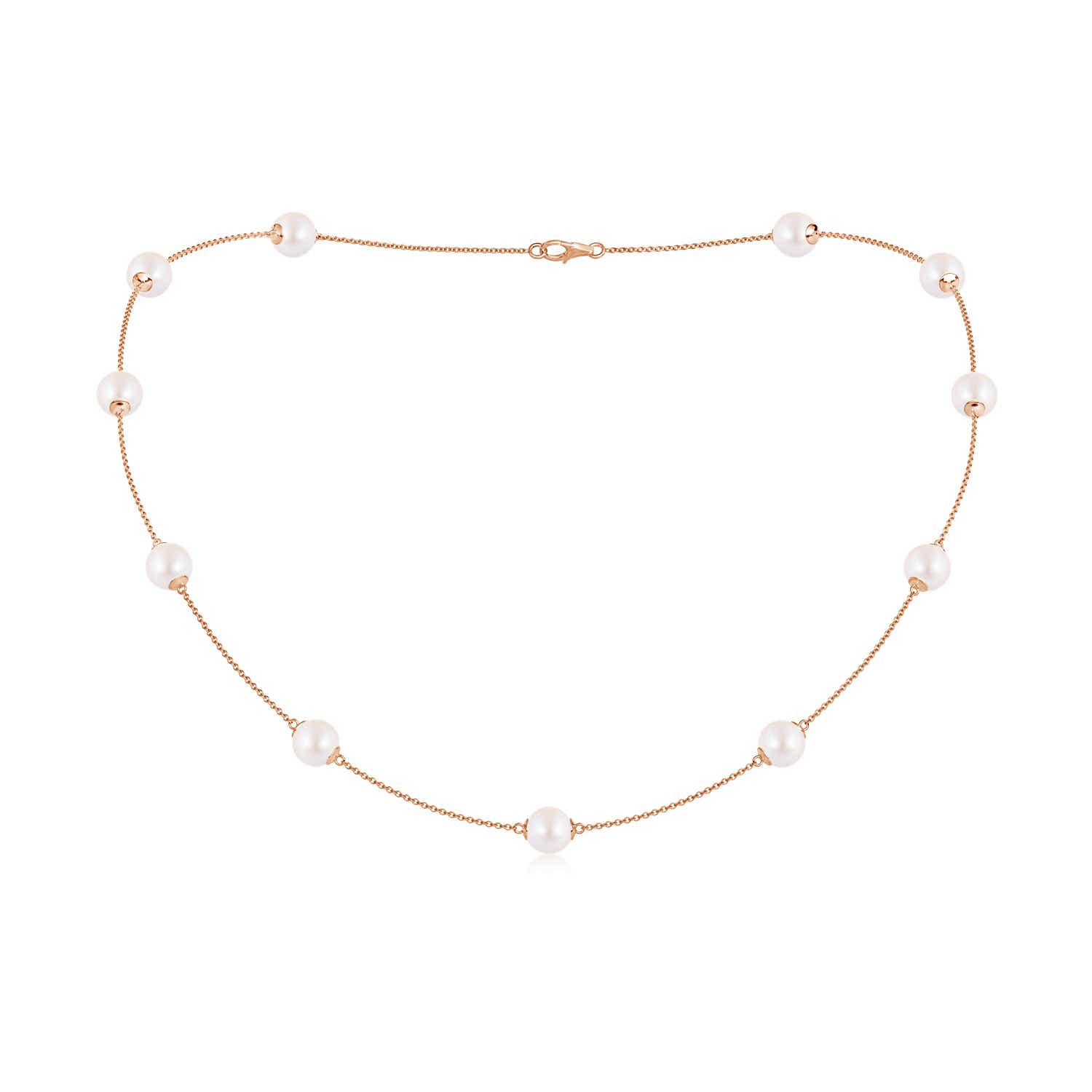 18 Akoya Cultured Pearl Dewdrop Necklace