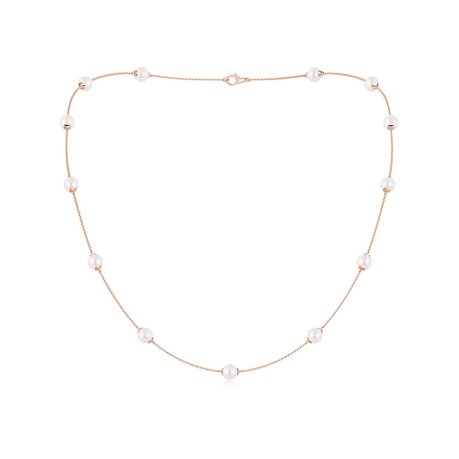 20 Akoya Cultured Pearl Dewdrop Necklace