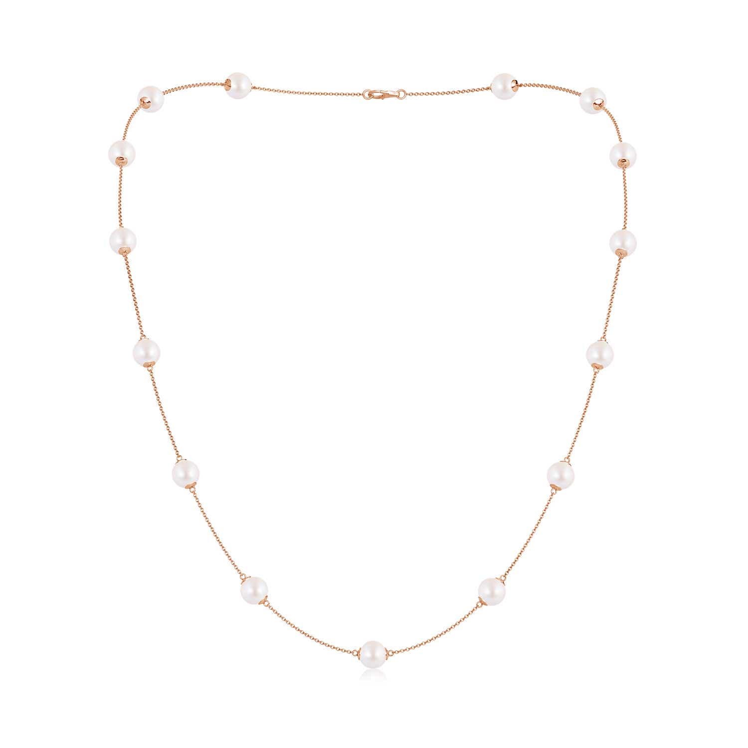 22 Akoya Cultured Pearl Dewdrop Necklace