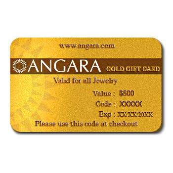$500 Gold Gift Card - Angara.com