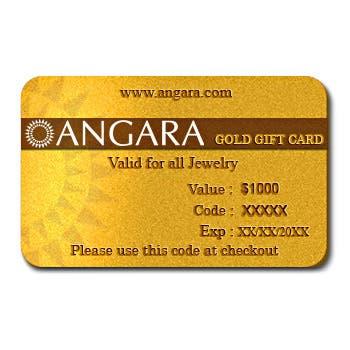 $1000 Gold Gift Card  - Angara.com