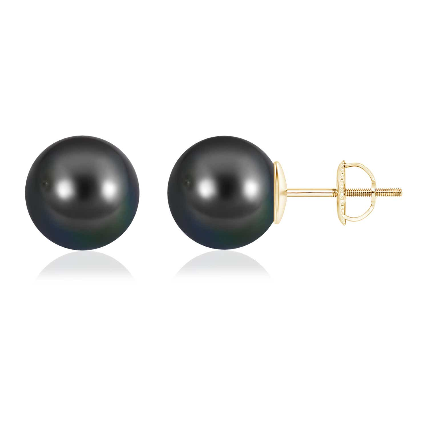 12mm-Tahitian-Cultured-Pearl-Solitaire-Stud-Earrings-14K-White-Gold
