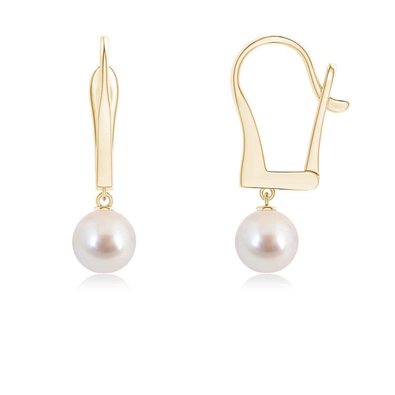 Angara Solitaire South Sea Cultured Pearl Dangle Earrings i7C7ots