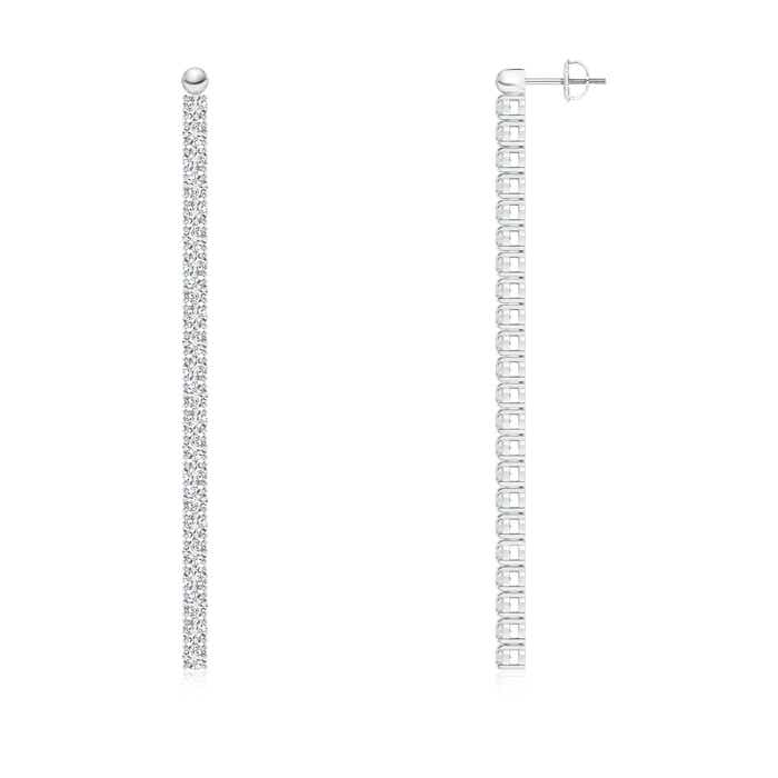 Angara Diamond Studded Vertical Bar Y Necklace hLRPt0Xs5