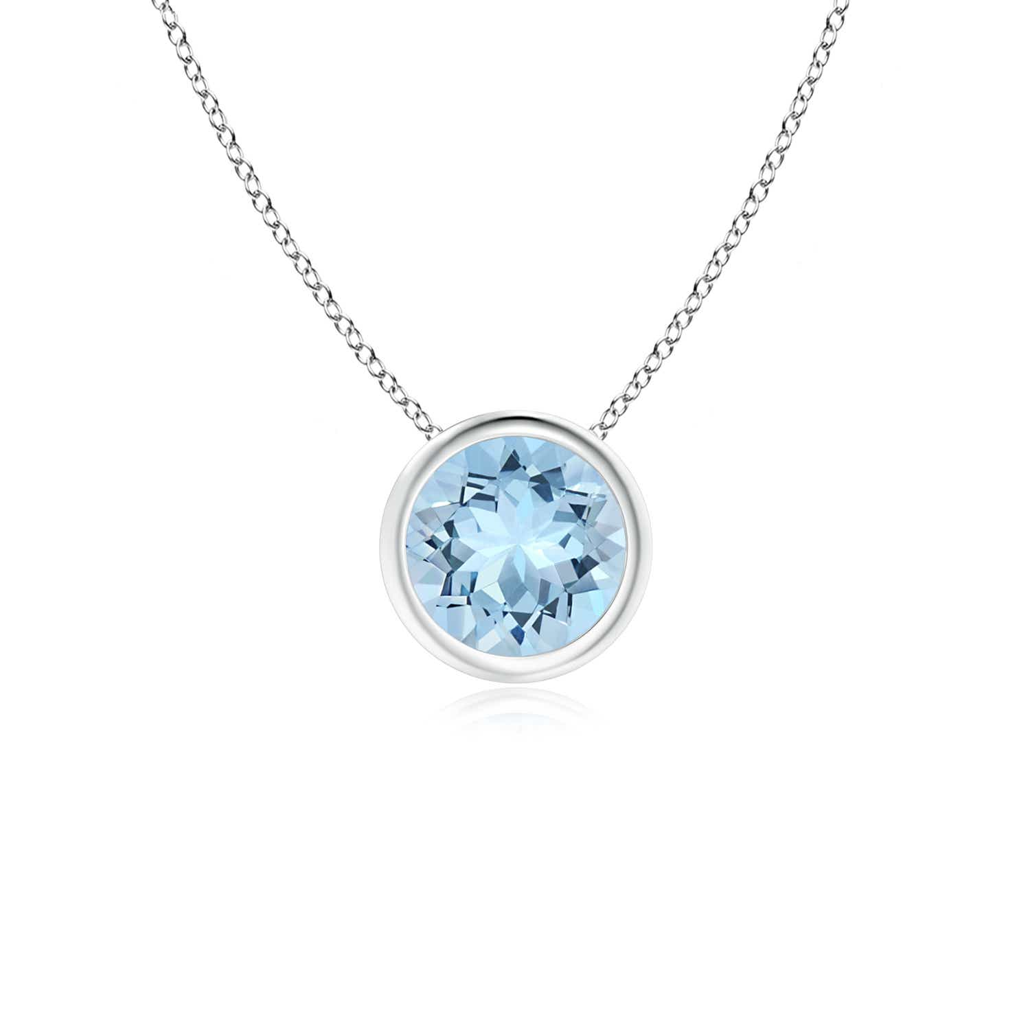 pendant aquamarine zoom necklaces march necklace birthstone sterling silver loading hiho cz