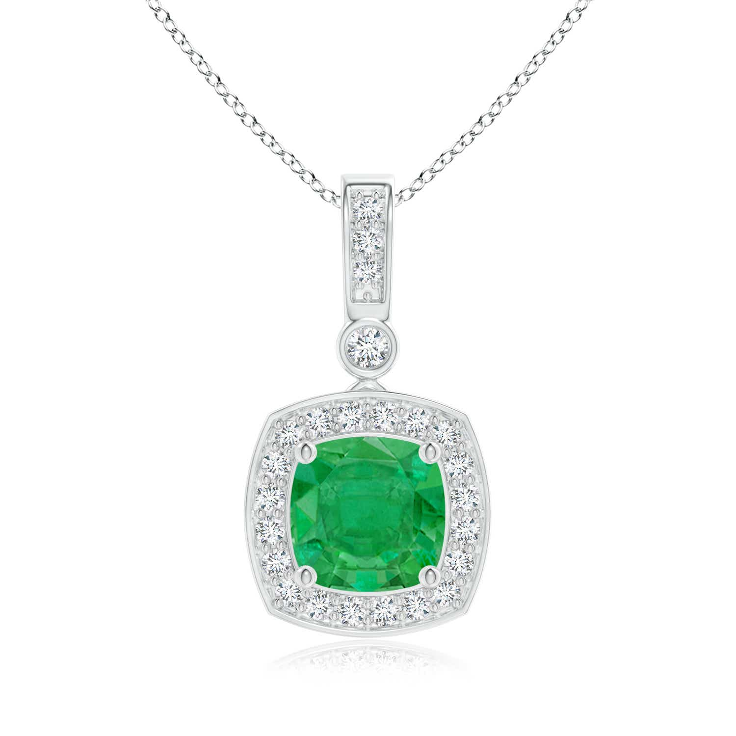 emerald square cut caymancode platinum ring cushion