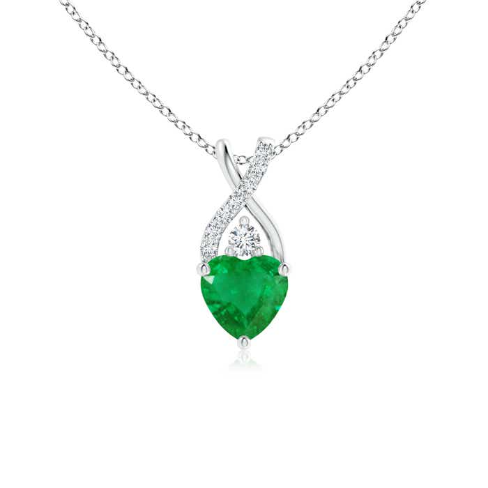 necklace group emerald natural store wfie from gift jewelry women mom for china gold pendant and cheap shop
