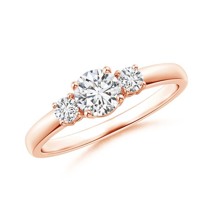 Classic Diamond Three Stone Engagement Ring - Angara.com