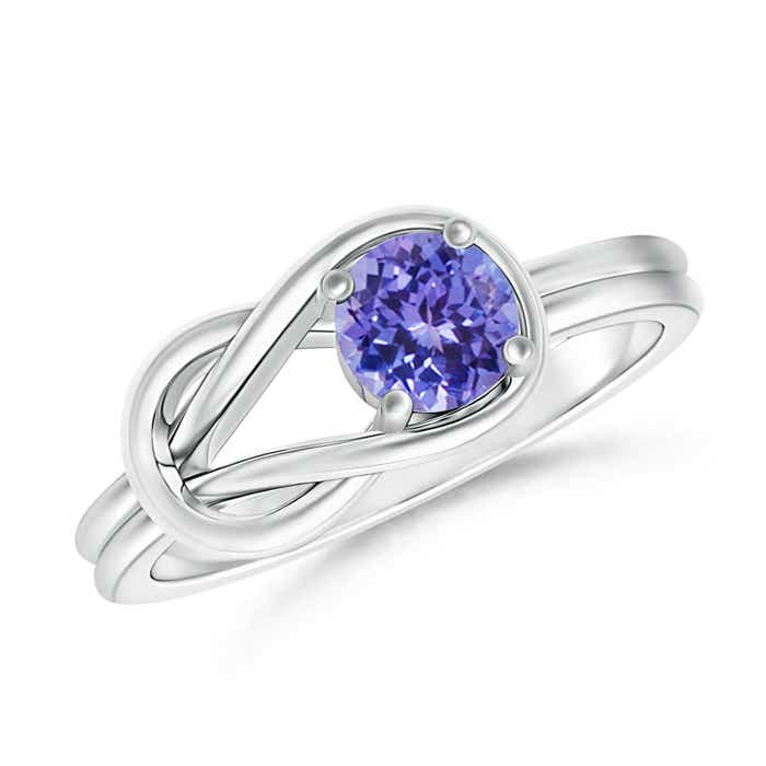 Angara Solitaire Tanzanite Engagement Ring in White Gold llb7SODsn