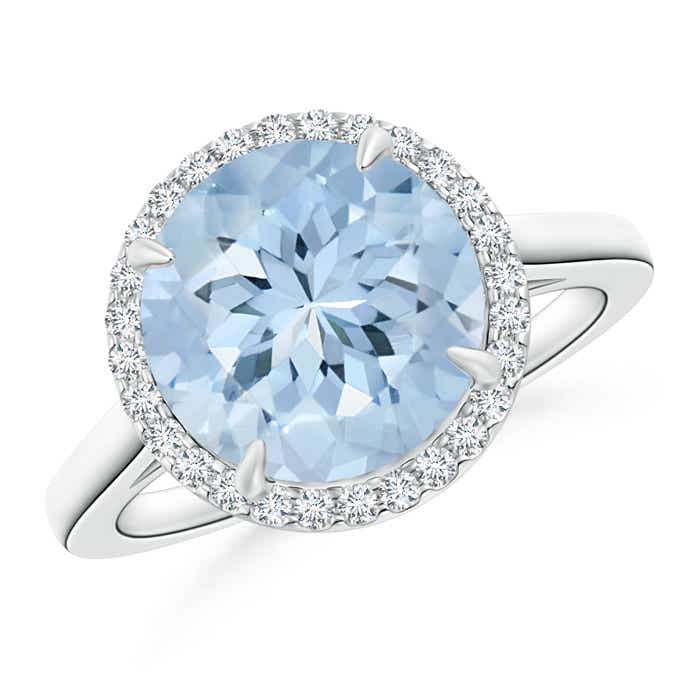 3-3ct-Round-Natural-Aquamarine-amp-Diamond-Halo-Engagement-Ring-Gold-Platinum