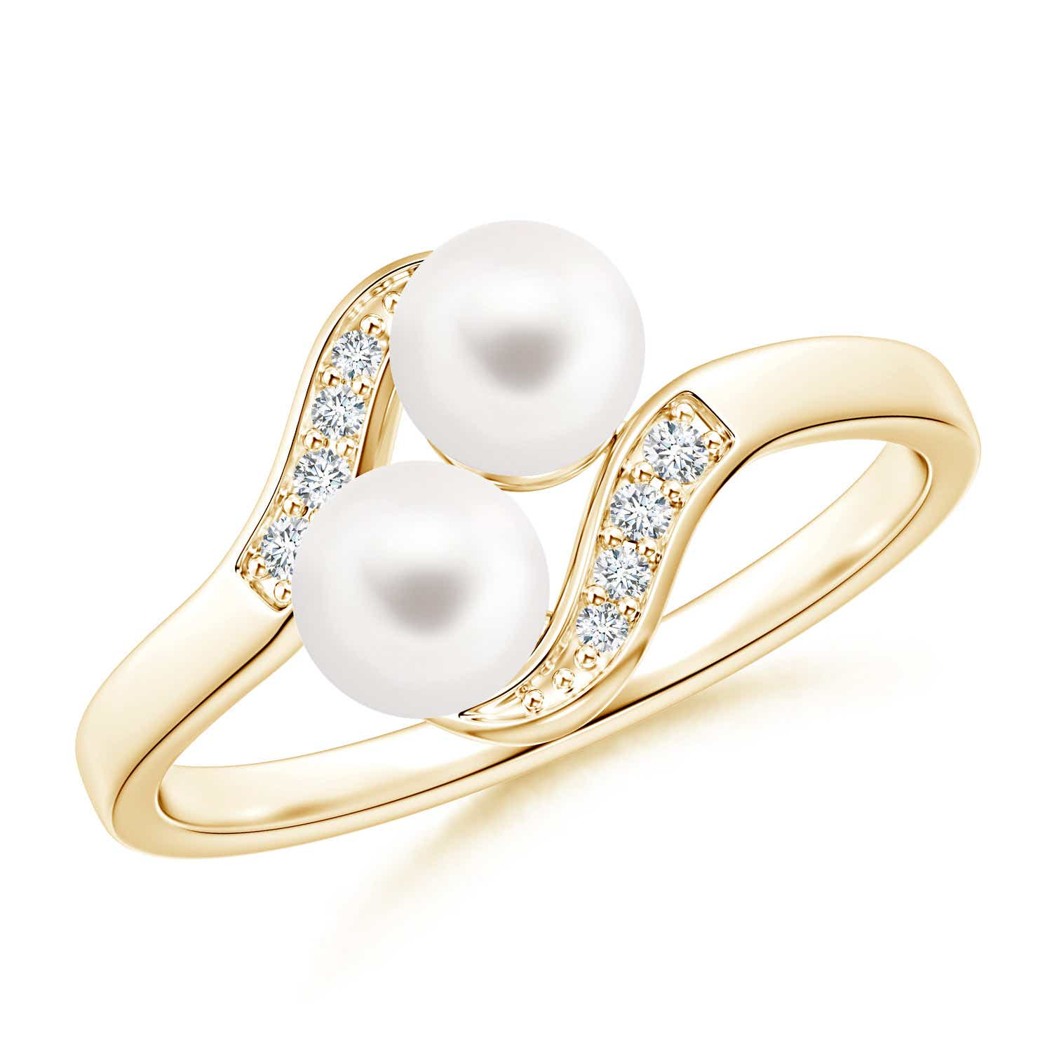 engagement ring pearl collection rings vintage nyqu home akoya real