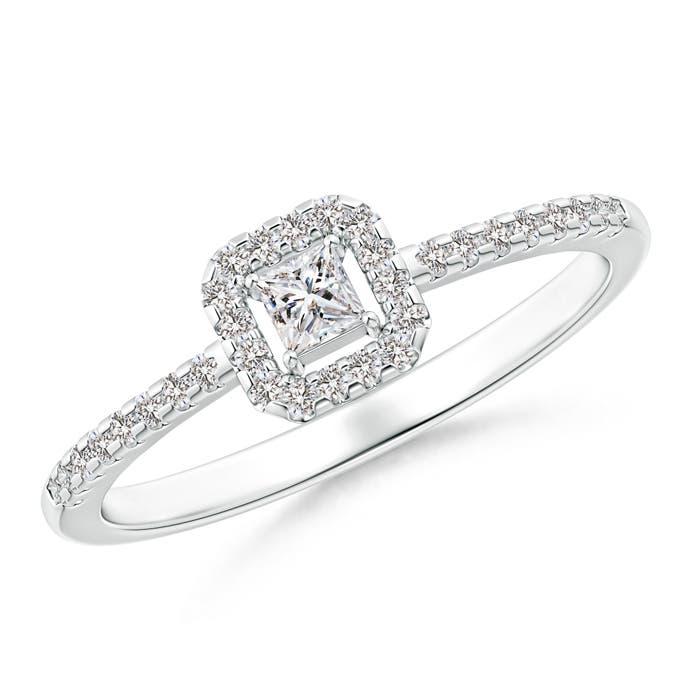 Princess-Cut-Natural-Diamond-Halo-Promise-Ring-14K-Gold-Platinum