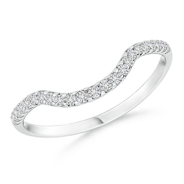Womens Diamond Wedding Bands Angara