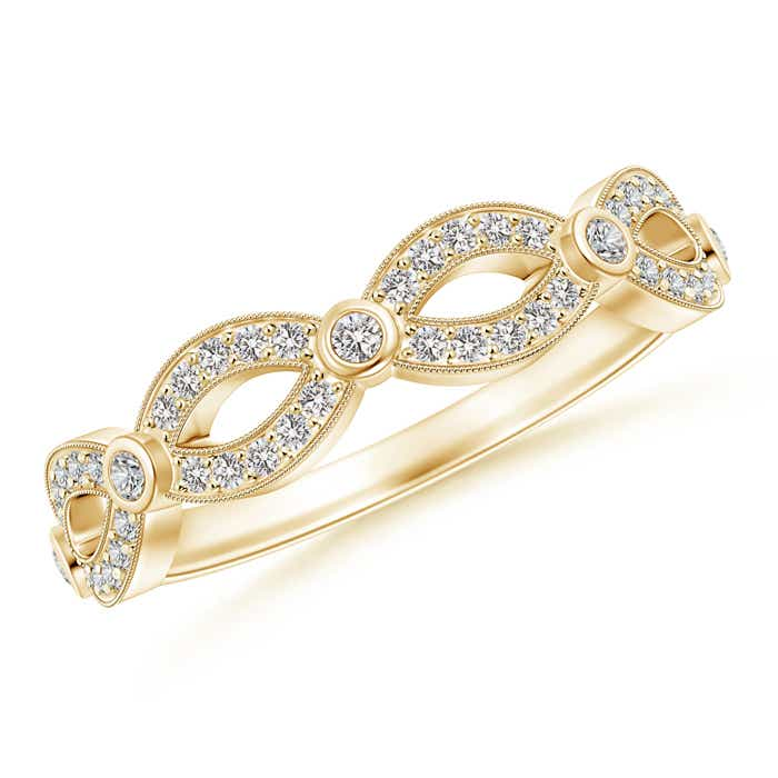 Natural-Diamond-Marquise-Dot-Wedding-Band-for-Her-14K-Gold-Platinum-Size-3-13