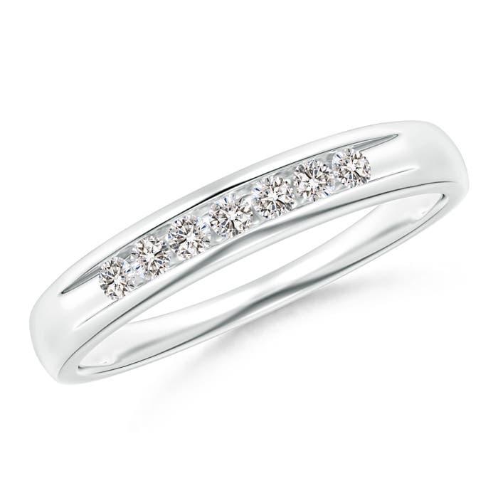 Natural-Diamond-Women-039-s-Wedding-Band-14K-Gold-Platinum-Size-3-13